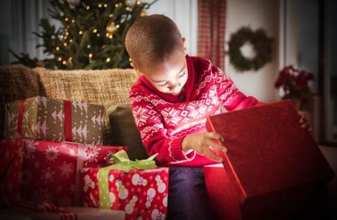 ouvrir cadeau noel