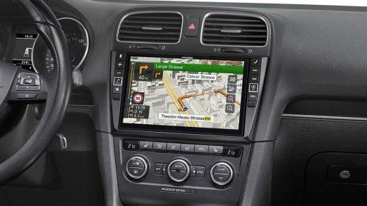 GPS autoradio
